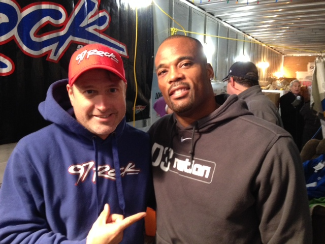 Fred Jackson Show 2014 Jickster and Fred