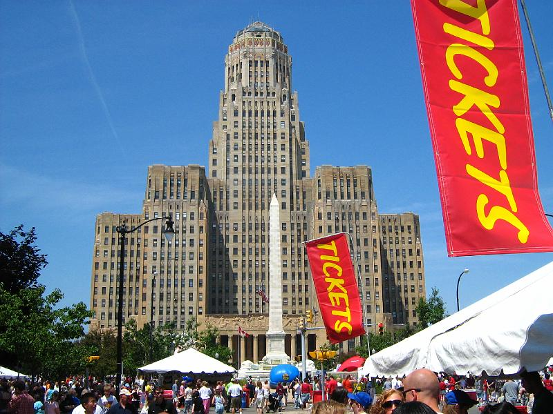 Taste of Buffalo City Hall